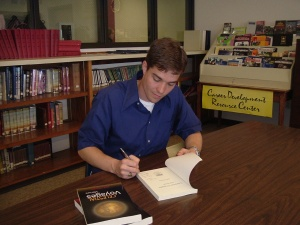 Jeff Provine at a book signing